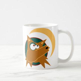 Aullido del coyote tazas de café