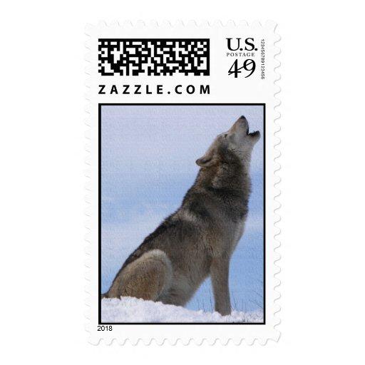 Aullido del lobo sellos
