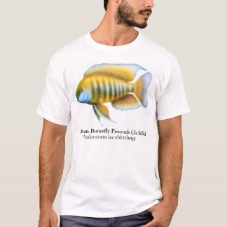 Aulonocara African Peacock Cichlid T-Shirt