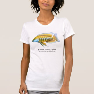 Aulonocara jacobfreibergi Cichlid Scoop Neck T-Shirt
