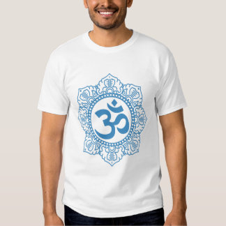 AUM blue Tshirt