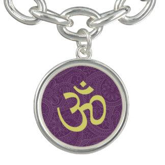 Aum Charm Bracelet