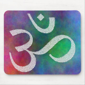 Aum Colorful OM Mouse Pad