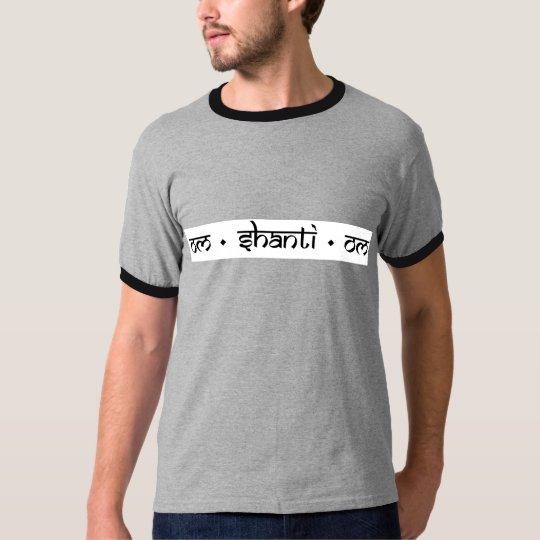 Aum Shanti Aum Yoga Gear T-Shirt