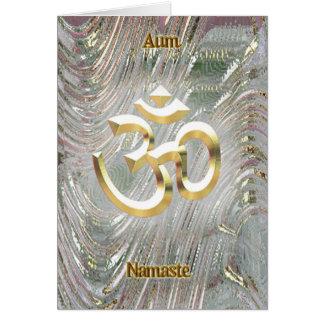 Aum Shri Ganesh Mantra Card