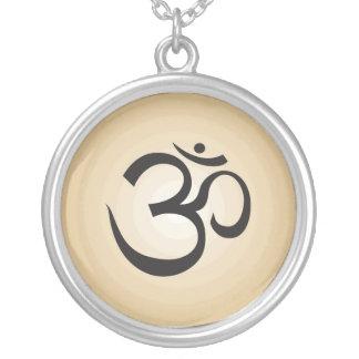 Aum Symbol Necklace - Gold