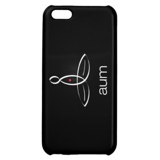 Aum - White Regular style Case For iPhone 5C