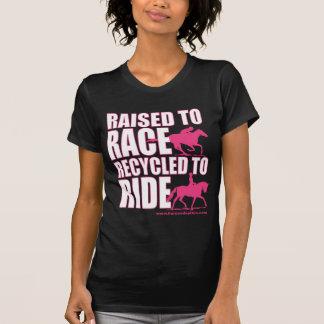 Aumentado a la raza reciclada para montar camisetas