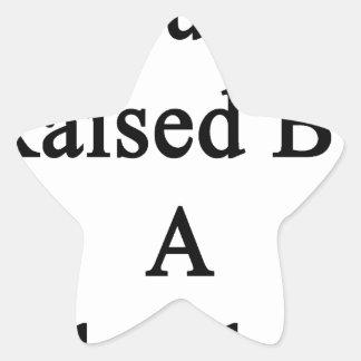 Aumentado orgulloso por un fontanero pegatina en forma de estrella