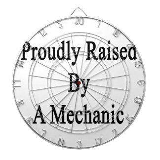 Aumentado orgulloso por un mecánico