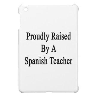 Aumentado orgulloso por un profesor español