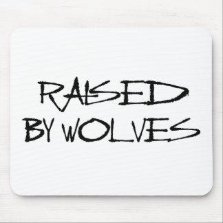 Aumentado por los lobos tapetes de ratón
