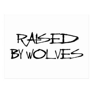 Aumentado por los lobos postal