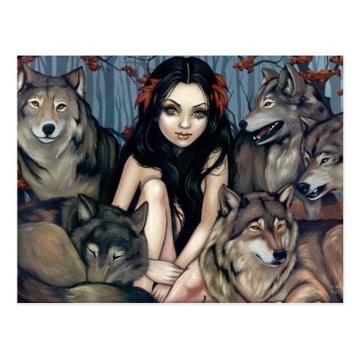 """""""Aumentado por postal de los lobos"""""""