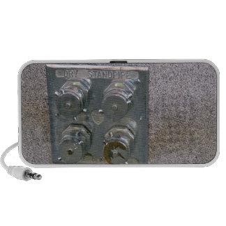 Aumentadores de presión de la boca de incendios de iPod altavoces