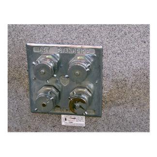 Aumentadores de presión de la boca de incendios de tarjeta postal