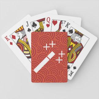 Aumente la muestra de las mejoras baraja de cartas