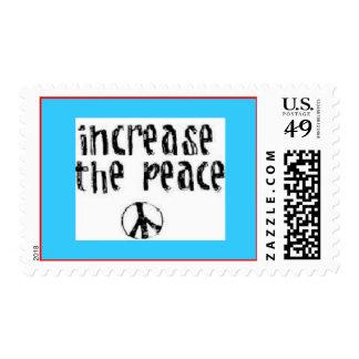 Aumente los sellos de la paz