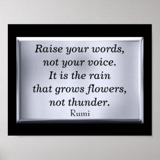 Aumente sus palabras -- impresión del arte
