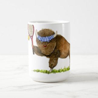 Aumente una taza del búfalo de la estafa