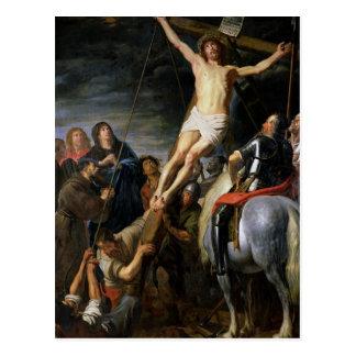 Aumento de la cruz, 1631-37 postal