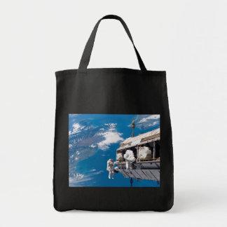 Aumento de la estación espacial internacional bolsa tela para la compra
