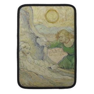 Aumento de Lazarus después de Rembrandt de Van Gog Funda Macbook Air