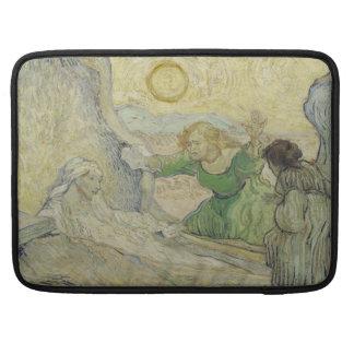 Aumento de Lazarus después de Rembrandt de Van Gog Funda Macbook Pro