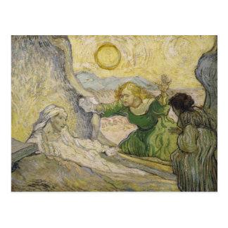 Aumento de Lazarus (Rembrandt), Vincent van Gogh Tarjeta Postal