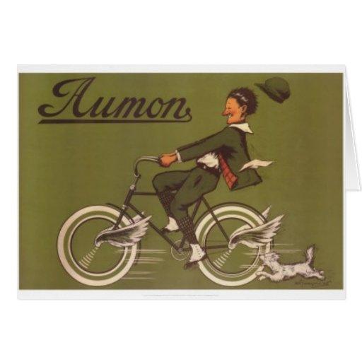 Aumon Greeting Card