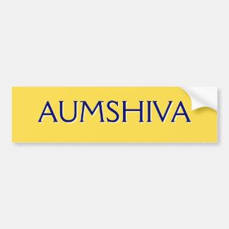 AUMSHIVA BUMPER STICKER