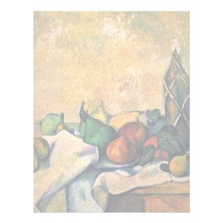 Aún-Botella de ron de Paul Cézanne (la mejor Membrete A Diseño