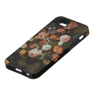 Aún flores florales de la vida en el florero, iPhone 5 Case-Mate protectores
