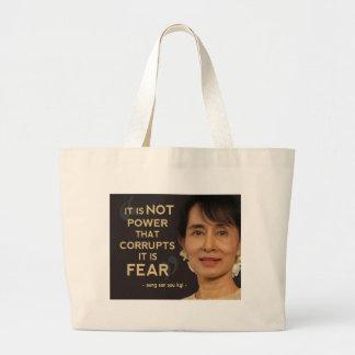 Aung San Suu Kyi Bolsa Lienzo
