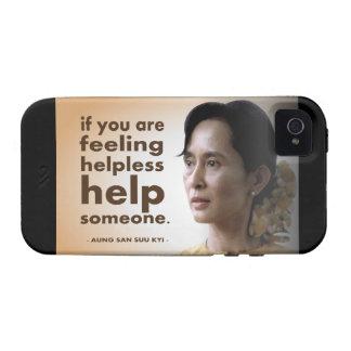 Aung San Suu Kyi Case-Mate iPhone 4 Carcasa