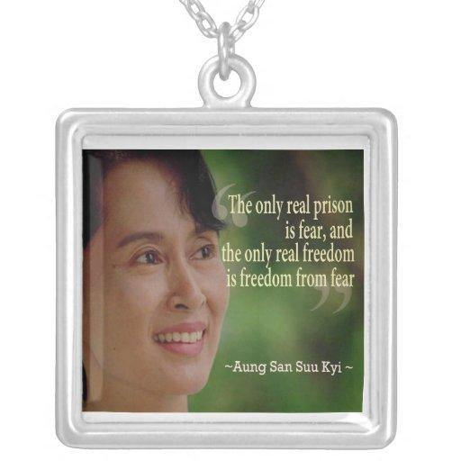 Aung San Suu Kyi Necklace