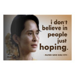 Aung san suu kyi quotes poster