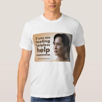 Aung san suu kyi quotes tee shirt