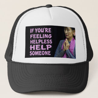Aung San Suu Kyi Quotes Trucker Hat