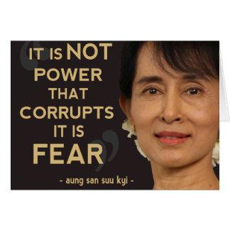 Aung San Suu Kyi Felicitación