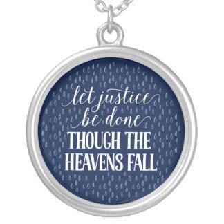 Aunque el collar de la caída de los cielos