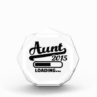 Aunt 2015 acrylic award