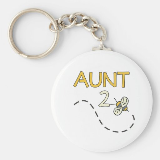 Aunt 2 Bee Keychains