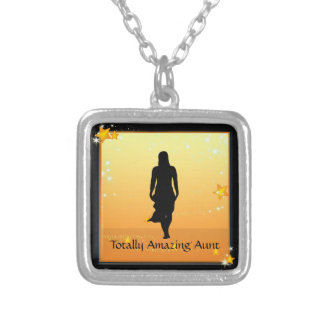 Aunt Amazing Woman Necklace