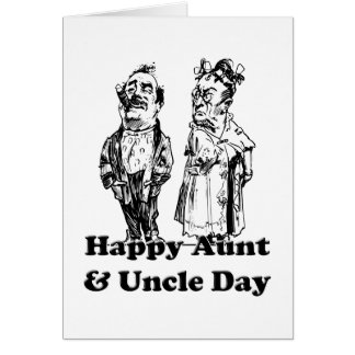 Aunt And Uncle Day Card