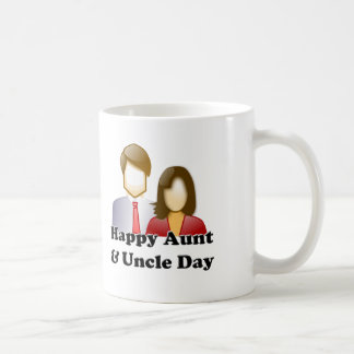 Aunt And Uncle Day Coffee Mugs