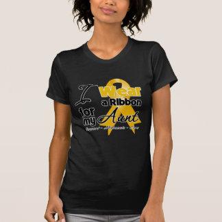 Aunt - Appendix Cancer Ribbon T-Shirt