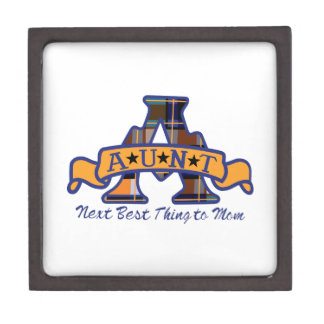 Aunt Applique Jewelry Box