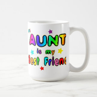 Aunt Best Friend Classic White Coffee Mug