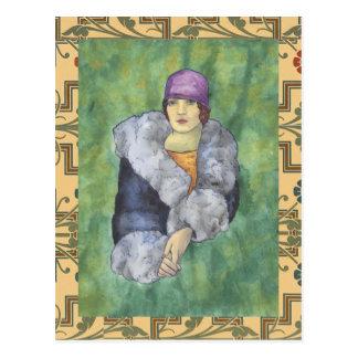 Aunt Bette's Coat Postcard